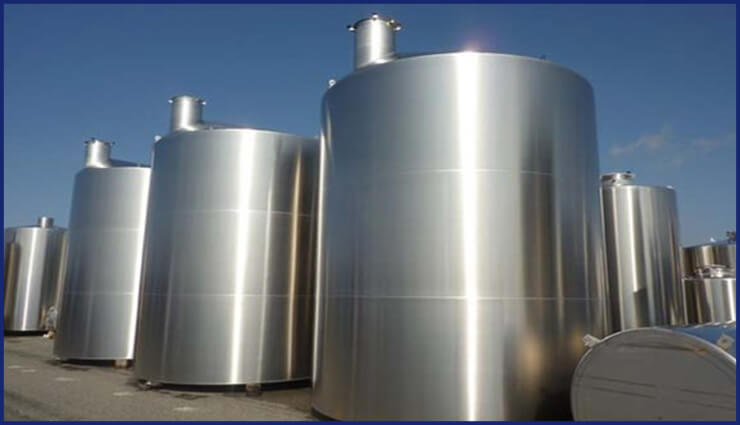 Alloy 904L Storage Tank