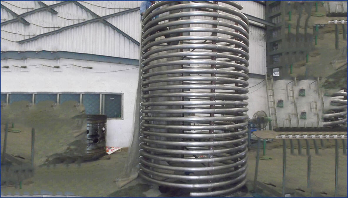 electro plating products heating and cooling coils