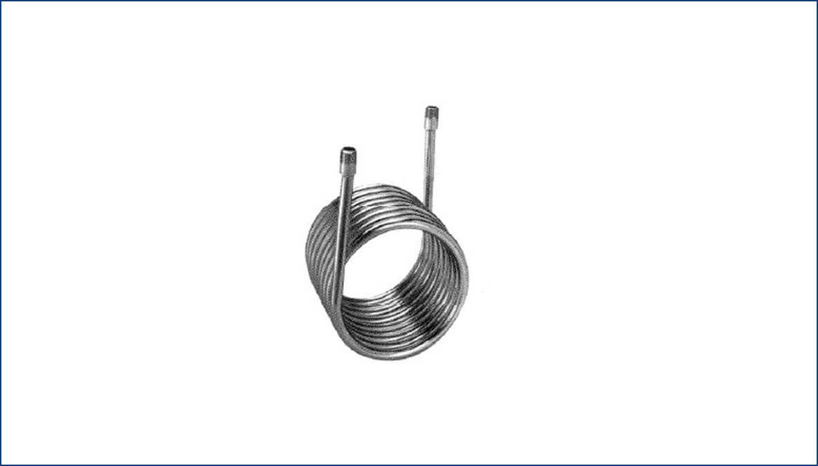 electro plating products zirconium cerpentine coils