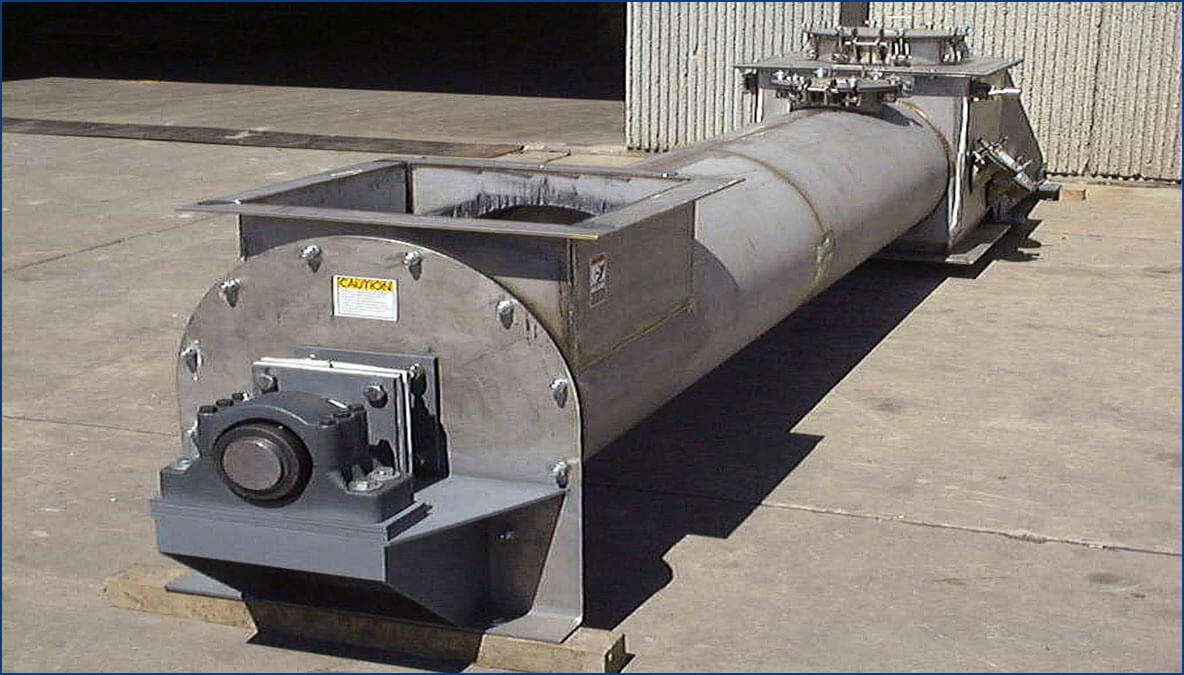 Nickel  Plug Screw Conveyor