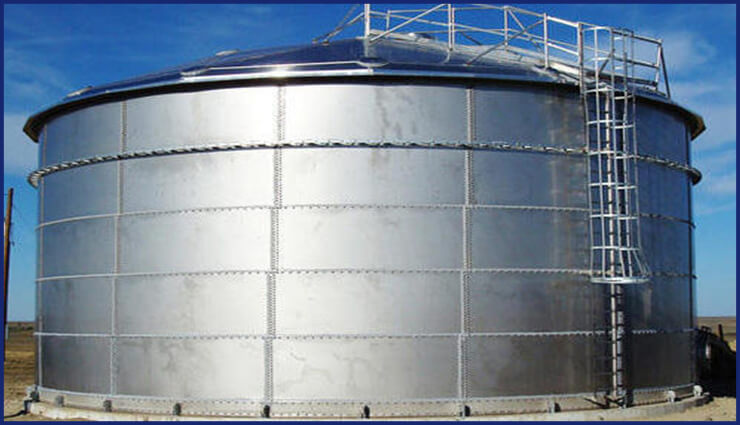 Super Duplex Steel Storage Tank